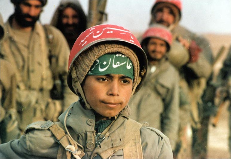 イランの歴史_イランの少年兵