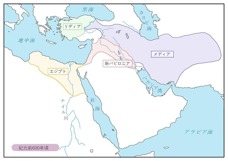 イランの歴史_メディアの領土